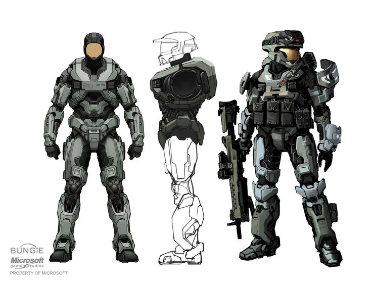 Spartan base armor Halo Reach by Rhizus