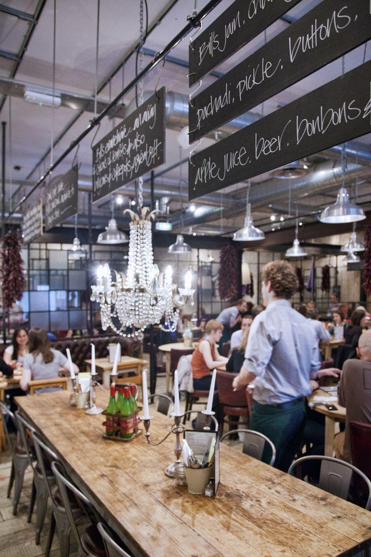 Looking through the Restaurant. #interior #design