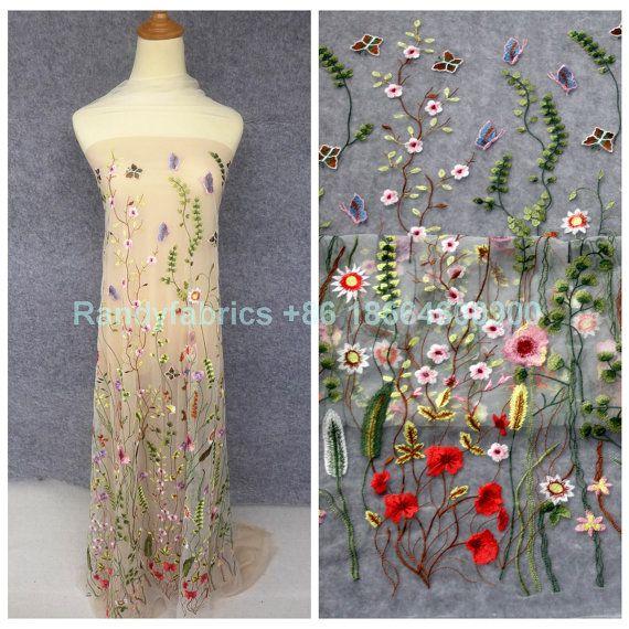 Neue Fashion Show Frühjahr gemischte Farben Blumen von Randyfabrics