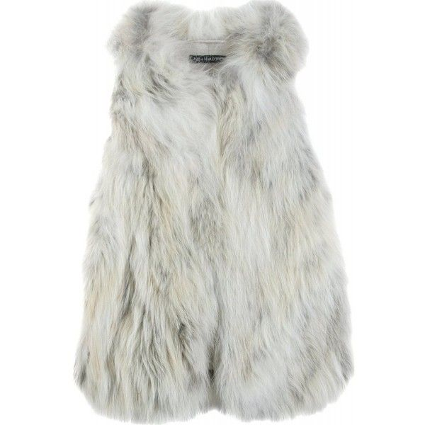 Inès & Maréchal Parade Fur Vest ($679) ❤ liked on Polyvore featuring outerwear, vests, jackets, fur, tops, women, vest waistcoat, fur vest and fur waistcoat