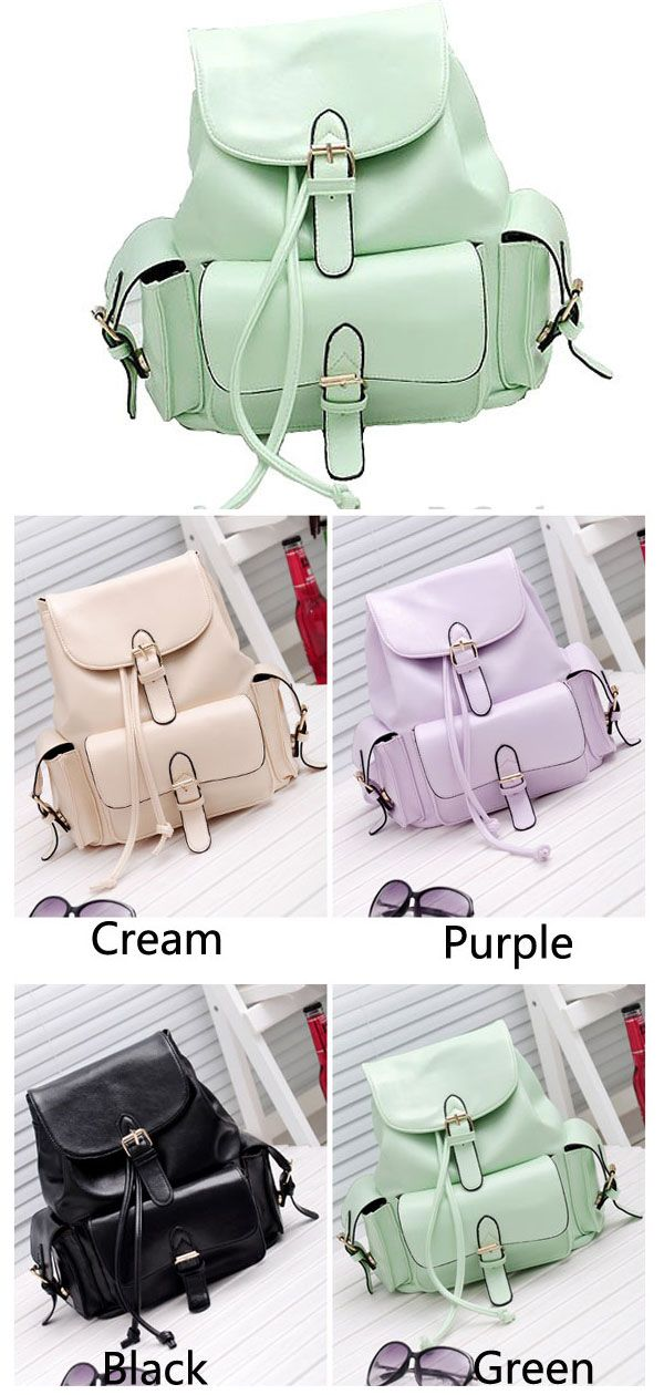 Which color do you want?  I like the green~ New Casual College Style Mint Green Backpack from www.bygoods.com