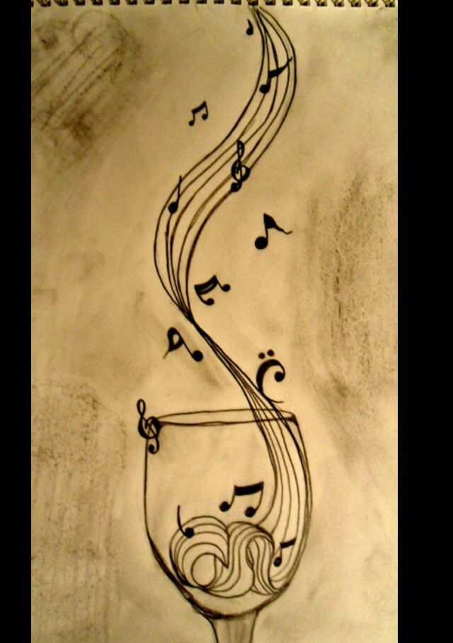 Cool Drawing Pretty Unique Music Music Drawings