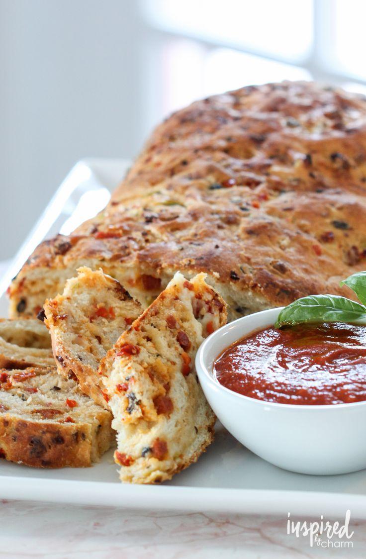 Pizza Bread | inspirebycharm.com