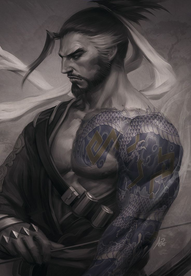 #overwatch #hanzo                                                                                                                                                                                 Mais