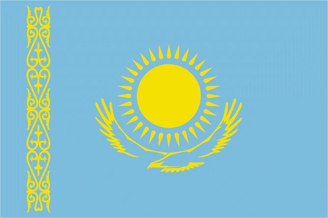 kazakistan flag