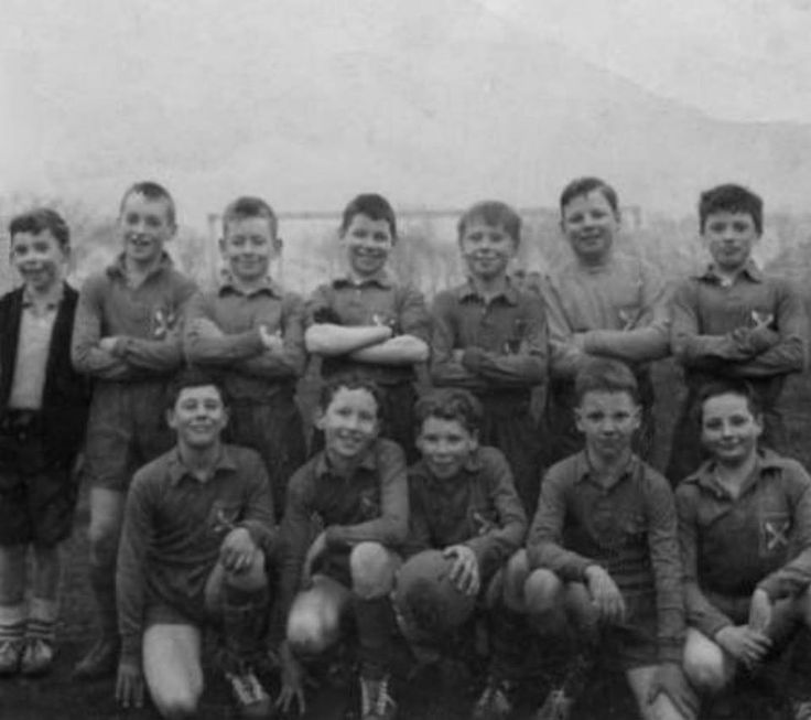 St Cuthberts football team 50s Back Row  1) No name 2) No name 3) No name 4) No name 5) No name 6) No name 7) No name  Front Row 1) No name 2) No name 3) No name 4) No name 5) No name