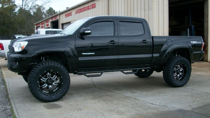 """2014 Tacoma 4wd, 6"""" BDS Suspension Systme & Fox Coilover Shocks"""
