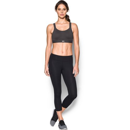 The Under Armour™ Women's Eclipse High Solid Sports Bra features luxurious  StudioLux® fabric and HeatGear® technology.