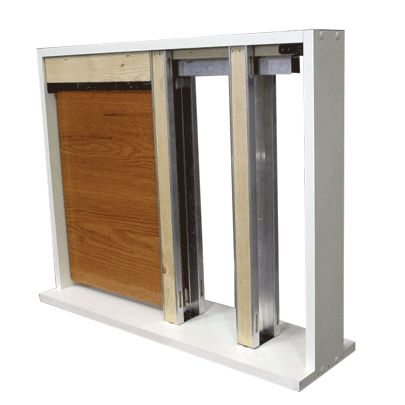 Pocket Door System - Sliding pocket doors are a great way to conserve space and recover  sc 1 st  Pinterest & 43 best PEMKO Sliding and Folding Hardware images on Pinterest ... pezcame.com