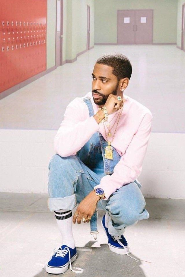 Big Sean wearing  Vans Authentic Sneakers, Rolex Yellow Gold Submariner 16618