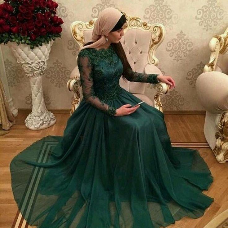 Dark Green Lace Long Prom Dress,Prom Dress,Evening Dress,Prom