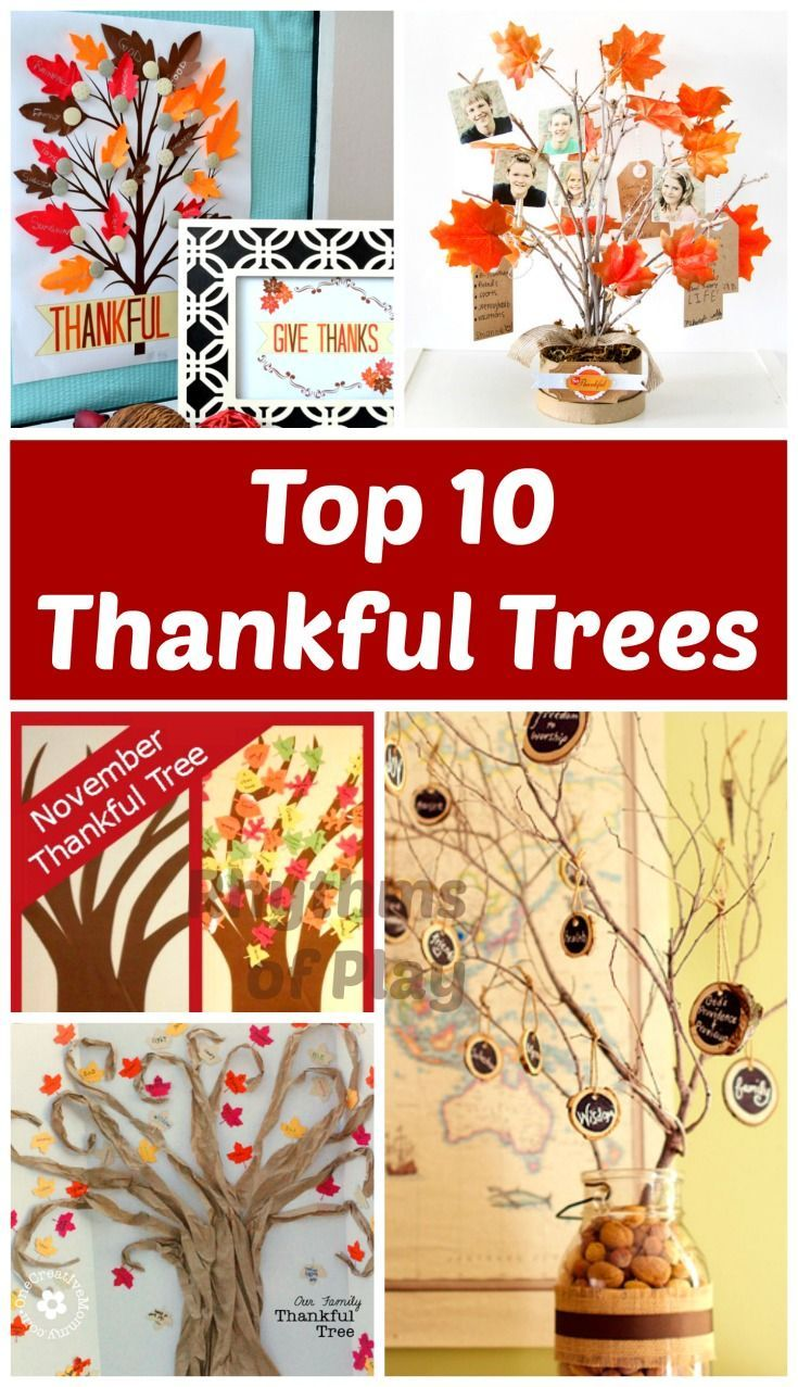 25 best ideas about thankful tree on pinterest for A common decoration for the top of the tree