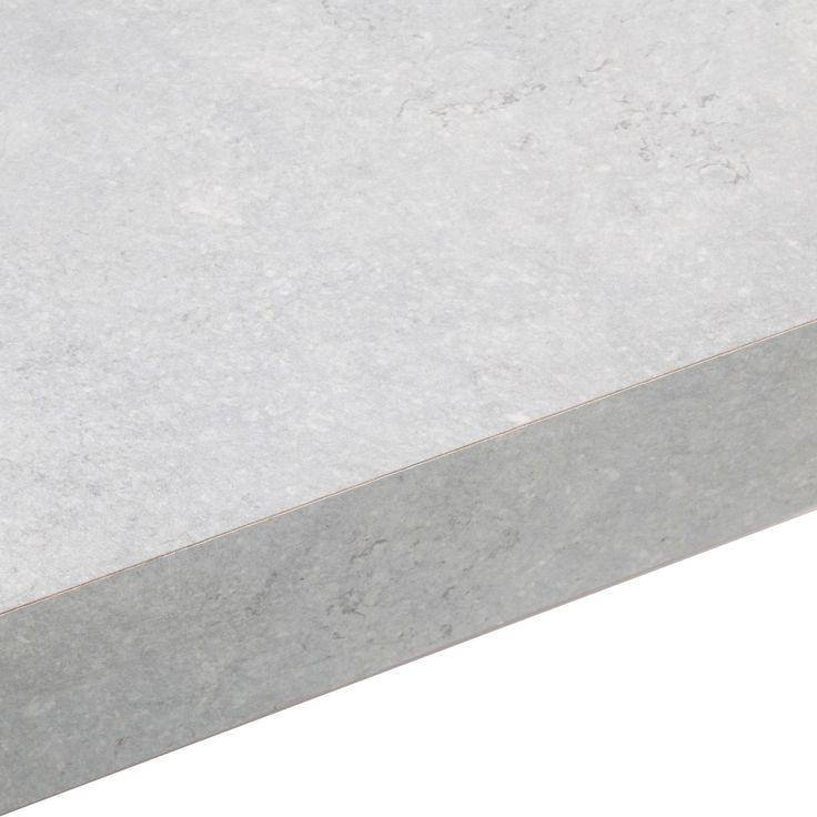 50mm Cooke & Lewis Tectonica Laminate Square Edge Kitchen Worktop | Departments | DIY at B&Q