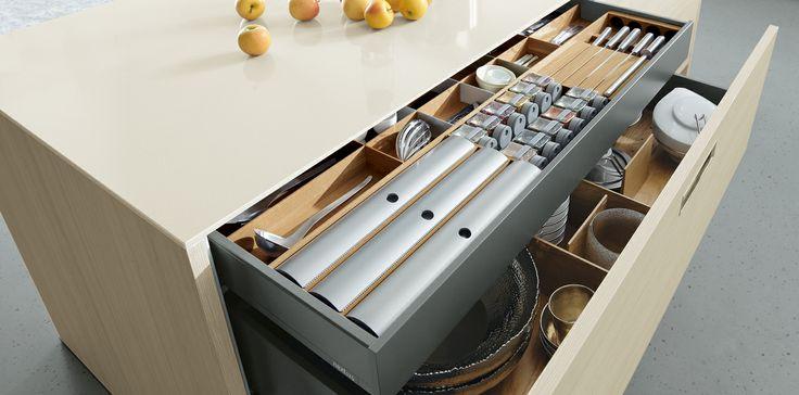#Kitchen storage, next125 - NX 120 Natural larch NB
