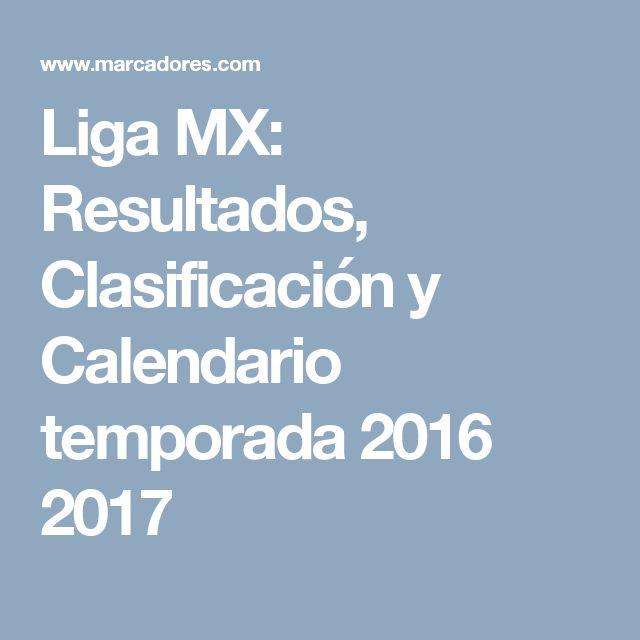 Liga MX: Resultados, Clasificación y Calendario temporada 2016 2017