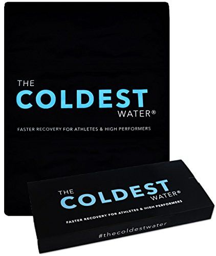 """The Coldest Ice Pack Gel Reusable Flexible Therapy Best For Back Pain Leg Arm Knee Shoulder Sciatic Nerve Recovery Medical Grade X-Large Big Compress 15"""" x 12"""" by The Coldest Water"""