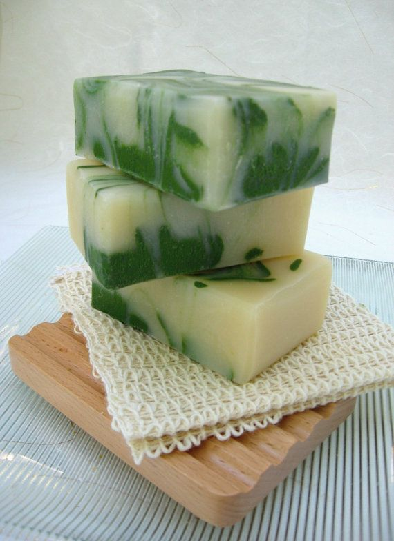 Handmade Soap Lime and Shea Organic Soap Vegan by SweetSallysSoaps, $6.50
