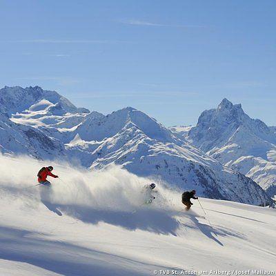 8 Tage Winter Ski Urlaub im 4* Hotel am Arlberg St. Anton Tirol Reise inkl. HPsparen25.com , sparen25.de , sparen25.info