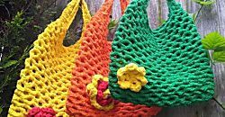 Ideas para hacer bolsos de trapillo, con tutoriales incluidos