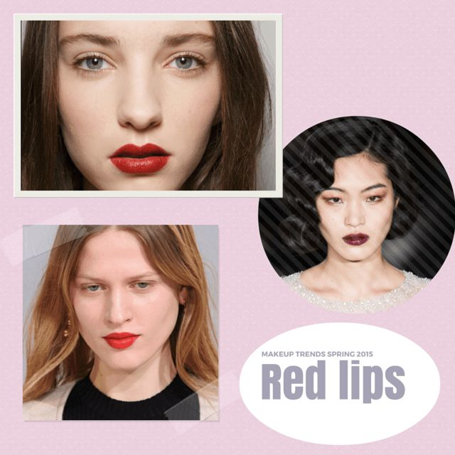 Top fall 2015 makeup trends: red lips