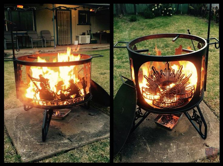 Cool Australian Army Fire Pit Fire Pits Bbq S And