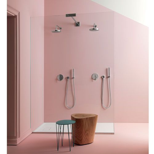 Pantone colours 2016: rose quartz (13-1520) and serenity (15-3919) Interior design ideas