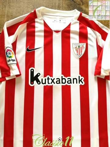 cb79c4507276 Official Nike Athletic Bilbao home football shirt from the 2016 17 season.  Complete with