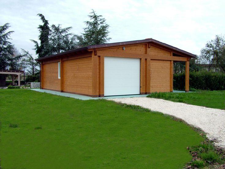 Oltre 25 fantastiche idee su pareti in legno su pinterest for Garage con veranda