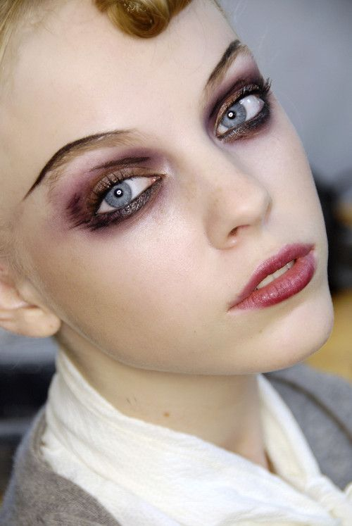 Backstage at Christian Lacroix Couture Fall 08