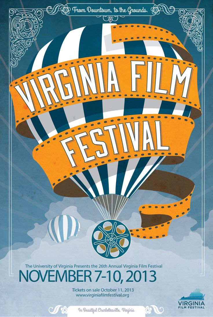Poster design competition - Virginia Film Festival Schedule To Feature Festivities Galore