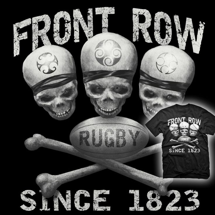 Front Row / Rugby Since 1823 T-shirt - Rugby America Limited