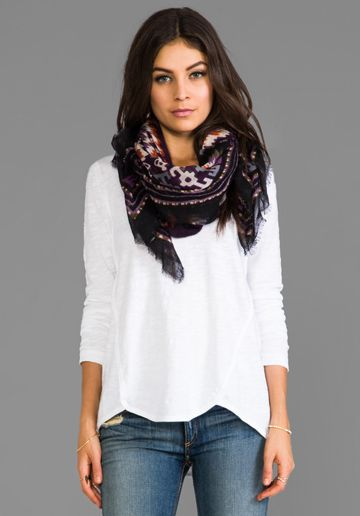TOLANI Scarf in Tribal Black at Revolve Clothing - Free Shipping!