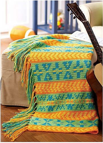 108 best tapestry haken plat dekens images on Pinterest | Crochet ...