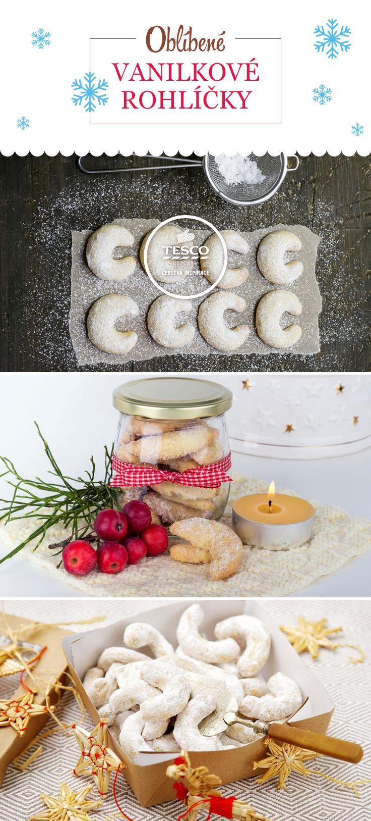 Naučte se vanilkové rohlíčky, je to snadné!