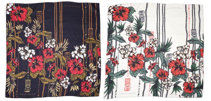 Silk Tikki scarves, A Piece of Chci