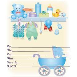 baby shower invitation free printable