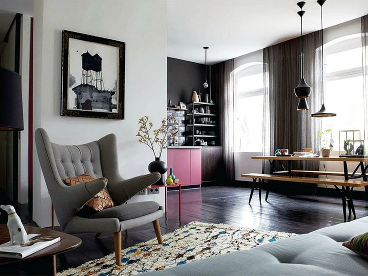 grey and black Peter Fehrentz Fonte: Elle Decoration February 2013