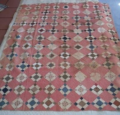 Soft antique quilt