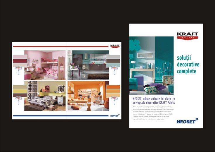 Kraft & Neoset brochures - design Victor Calomfir
