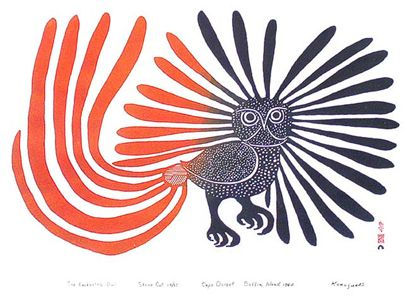 The Enchanted Owl - Kenojuak Ashevak