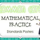 Display the Common Core Standards for Mathematical Practice in style with these fun, colorful math standards posters!  Each standard is listed and...
