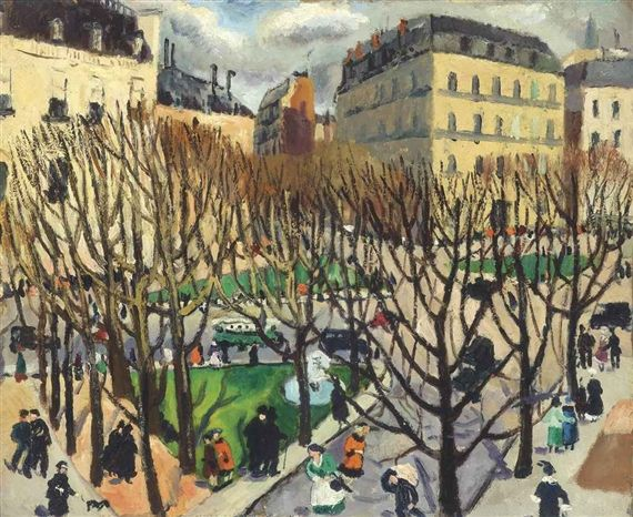 Paris Square (1925) by Christopher Wood