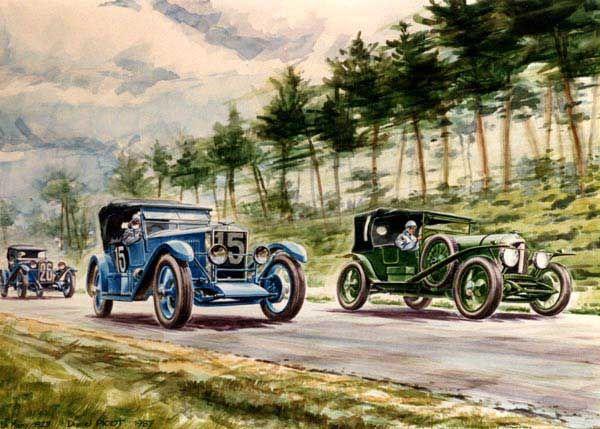 Le Mans 1927 Scap 1 5l 15 Daniel Picot 24h Le Mans