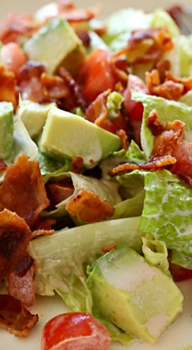 BLT Salad with Avocado + The SkinnyTaste Cookbook and OXO Giveaway