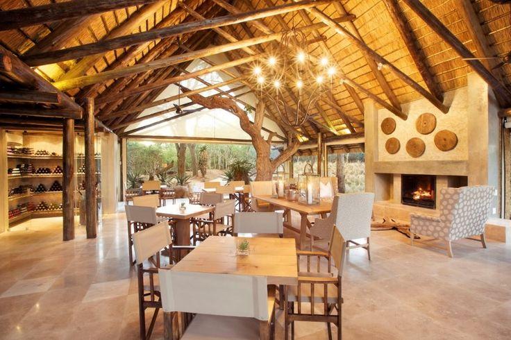 Kapama Southern Camp - Dinning Area