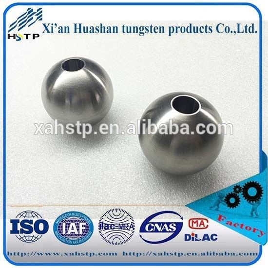 Factory supply High density Tungsten Alloy ball for shoting 93wnife