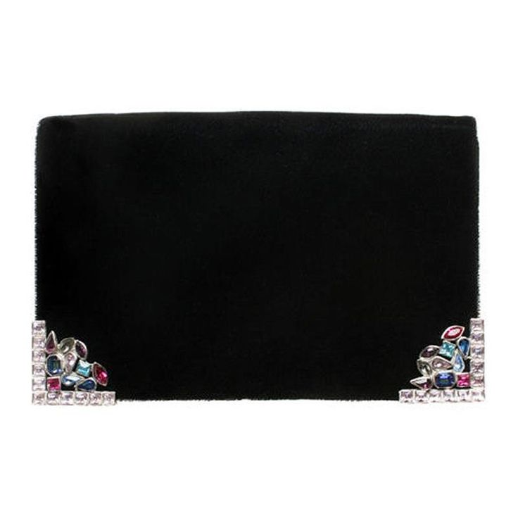 Yves Saint Laurent Jeweled Clutch | Douglas Rosin | The It Bag ...