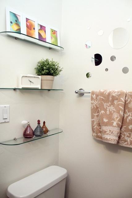 Creative Decor Glass Shelves For Bathroom Floating Glass Shelves Bathroom Ideas
