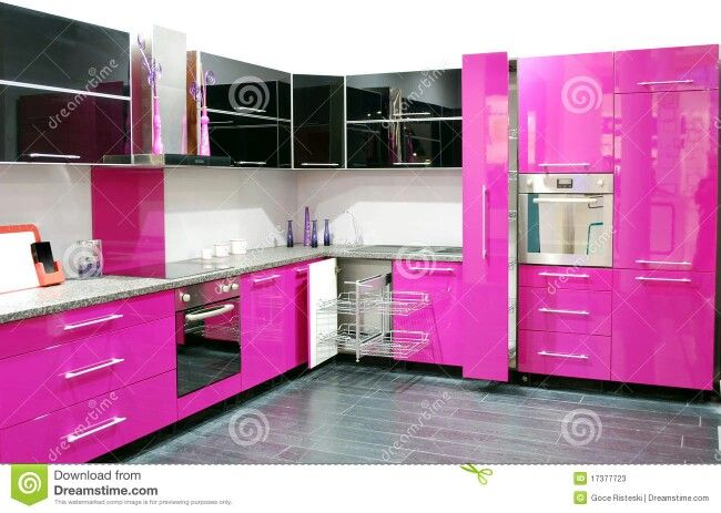 140 Best Pink Kitchens Images On Pinterest Play Kitchen And My House