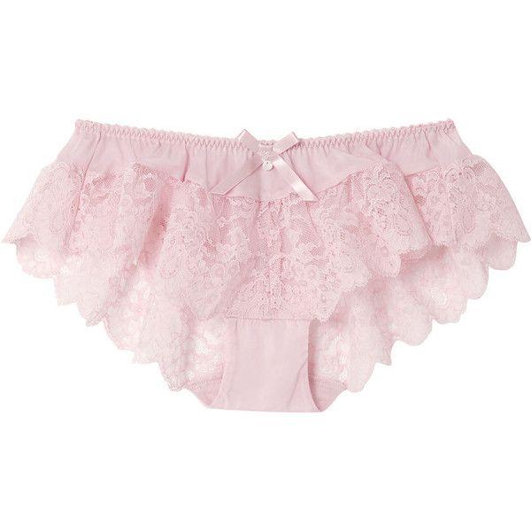 アンフィ フレアショーツ ($29) ❤ liked on Polyvore featuring intimates, underwear, lingerie, undies and bottoms